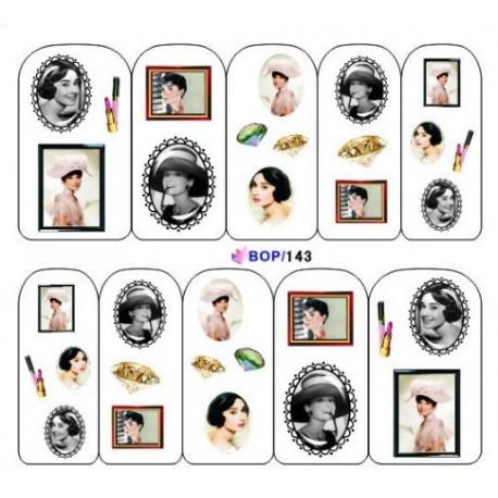 BB Nail Sticker BOP 143