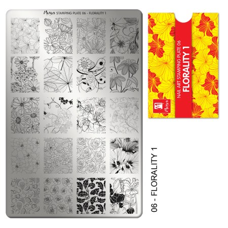 Matrita pentru stampila nr 06 imprimeuri florale