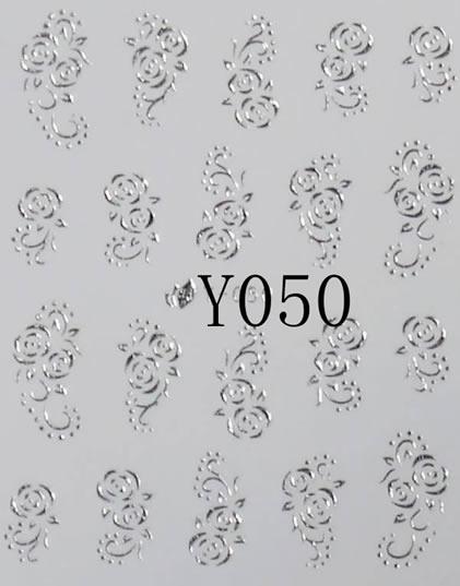 BB Nail Sticker 15Y050 Silver