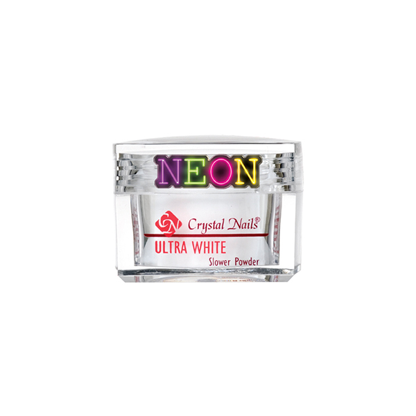 Praf acrylic slower powder neon white 100gr