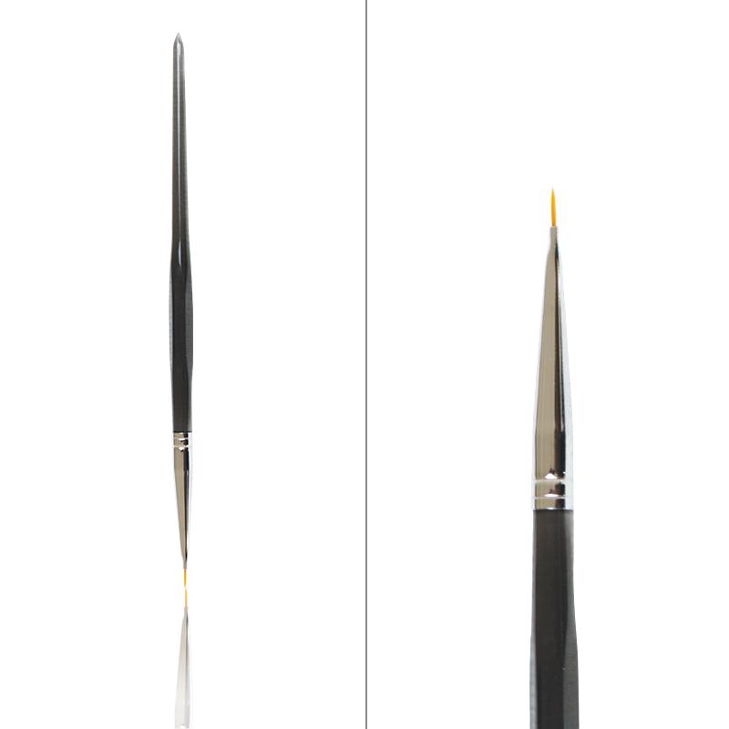 Pensula Neagra Decor cu Varf Subtire