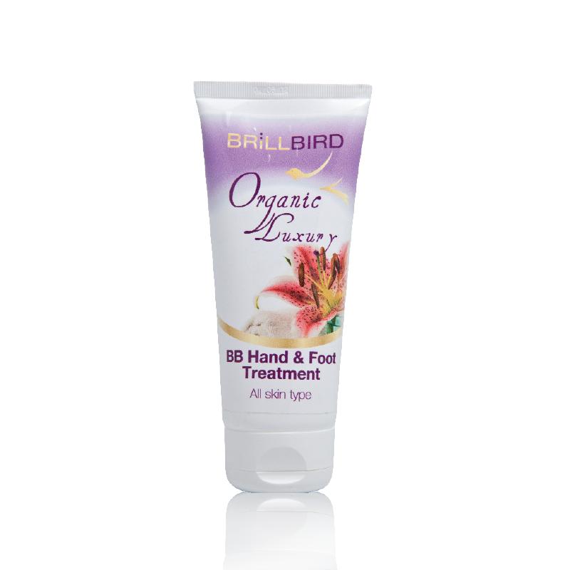 Tratament intens pentru maini si picioare Organic Luxury 200 ml
