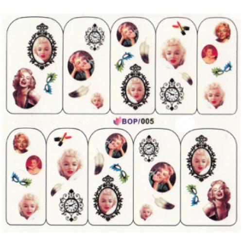 BB Nail Sticker BOP 005