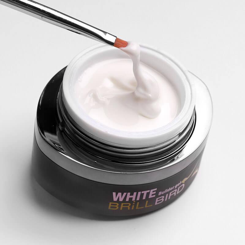 White deluxe Gel  Alb Natural 15ml