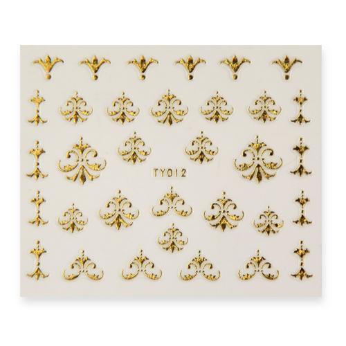 BB Nail Sticker TY012 Gold