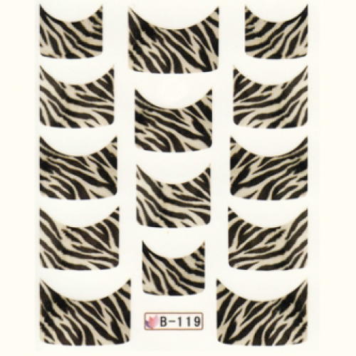 BB Nail Sticker B119