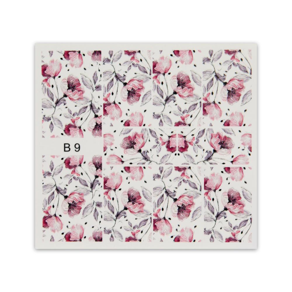 BB Nail Sticker B9  3D