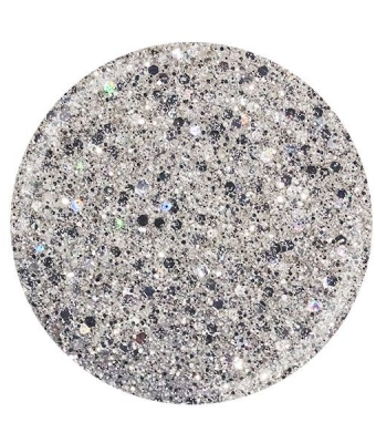 Glitter gel Superstar Cupio Silver