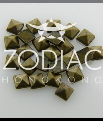 Decor Zodiac Patrat Bronze 2mm