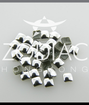 Decor Zodiac Patrat Silver 3mm