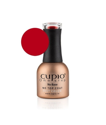 Gel lac cupio one step easy off candy apple red