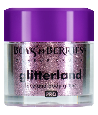 Glitter pulbere boys n berries glitterland face and body virgo
