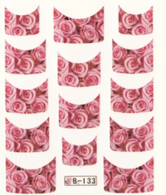 BB Nail Sticker B133 Rose