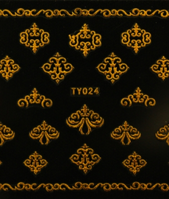 Abtibild unghii TY024 Gold