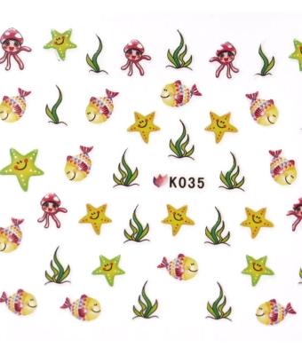BB Nail Sticker K035