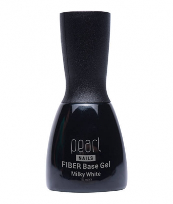 Fiber Base Gel - Milky White Pearl Nails