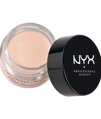 Corector nyx professional makeup concealer jar alabaster