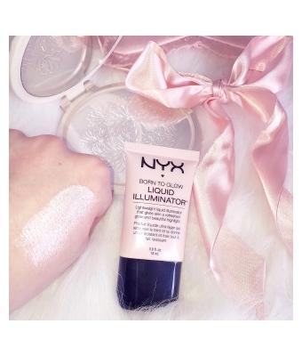 Iluminator lichid nyx professional makeup born to glow sunbeam