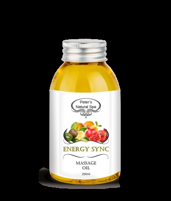 Ulei de masaj energy sinc 200ml