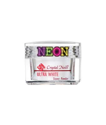 Praf acrylic slower powder neon white 28gr