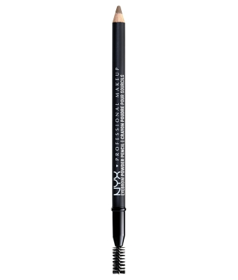 Creion sprancene nyx professional makeupeyebrow powder pencil ash brown