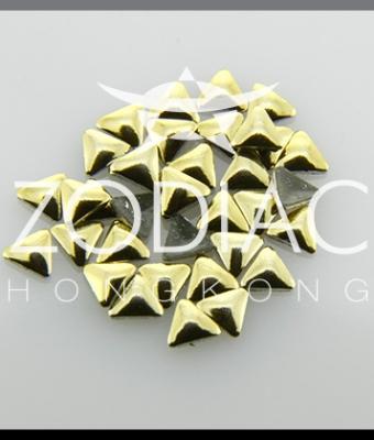 Decor Zodiac Triunghi Gold 3mm