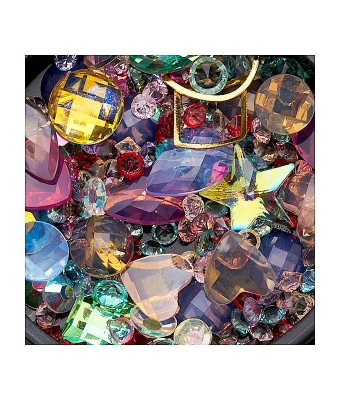 Ornamente mix margele cristale si forme geometrice 02