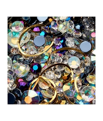 Ornamente mix margele cristale si forme geometrice 21