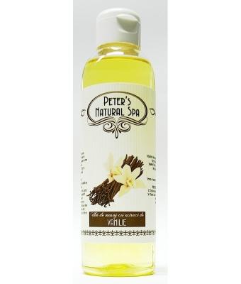 Ulei cu extract de vanilie 250ml
