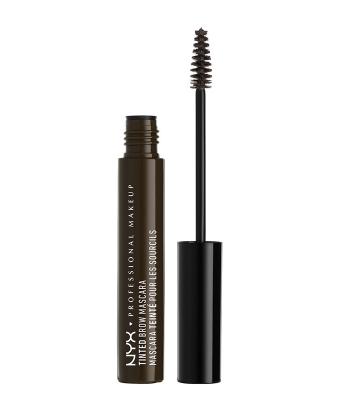 Mascara sprancene NYX Professional Makeup Tinted Brow Mascara Black