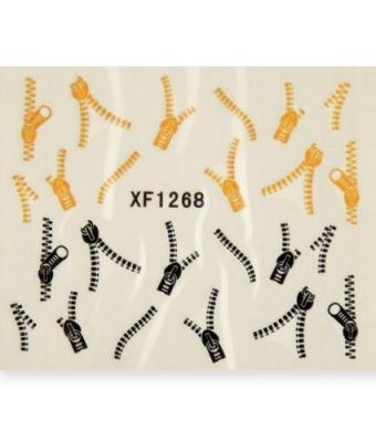 BB Nail Sticker XF1268