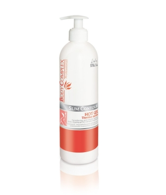 Body complex slim contour hot gel thermo active 500ml lady stella