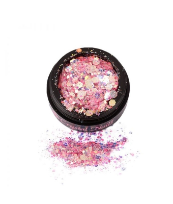 Glam Glitters Pink Rainbow