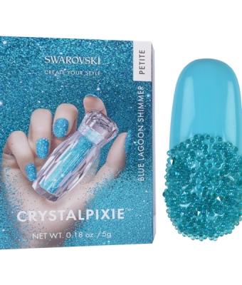 Swarovski Crystal Pixie Petite Lagoon Shimmer 5gr