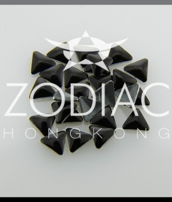 Decor Zodiac Triunghi Black 3mm