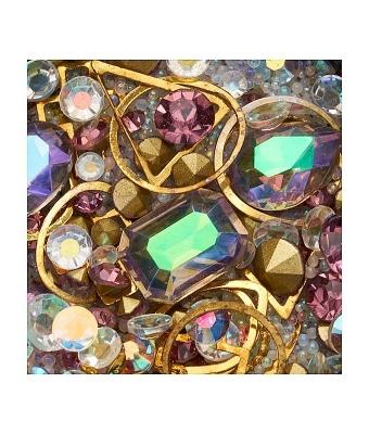 Ornamente mix margele cristale si forme geometrice 18