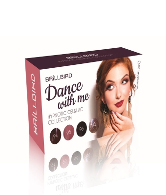 Colectia Hypnotic Gel Lac Dance with me  4x4ml