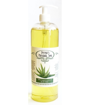 Ulei cu extract de aloe vera peter s natural spa 1l