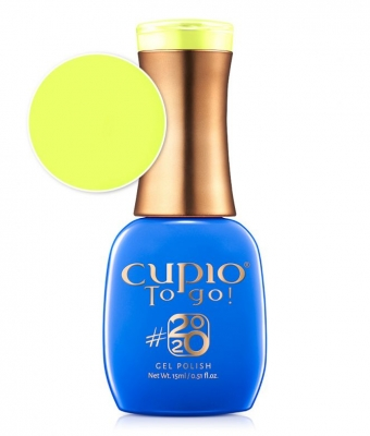Cupio gel lac 2020 Collection Vibrant Yellow