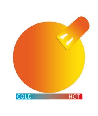 Gel termic cupio orange-yellow