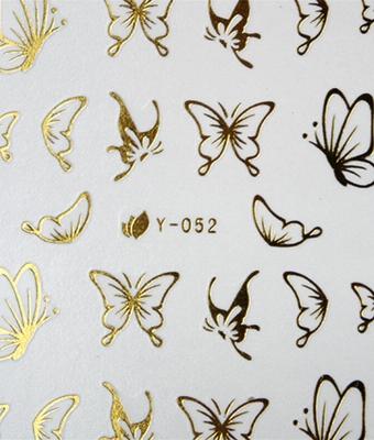 BB Nail Sticker 14Y052 Gold