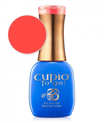 Cupio gel lac 2020 Collection Hot Coral