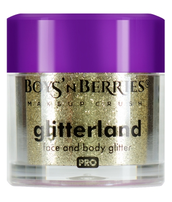Glitter pulbere boys n berries glitterland face and body vela