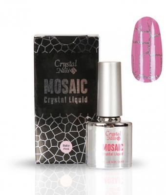 Mosaic Crystal Liquid Baby Pink 4ml