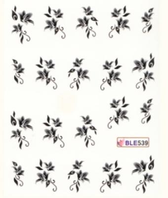 BB Nail Sticker BLE539 Black