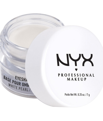 Baza machiaj nyx professional make-up eyeshadow base white pearl