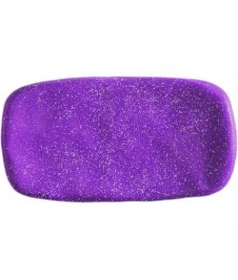 PlastiLine Glitter VIOLET color gel Pearl Nails
