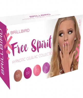 Colectia Hypnotic Gel Lac Free Spirit  4x4ml
