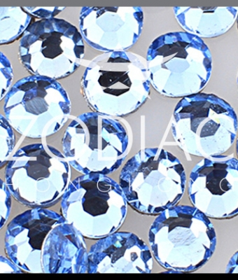 Strasuri Light Sapphire AB SS8