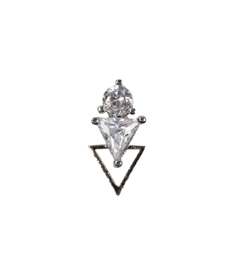 Nail Charm 1 Argintiu